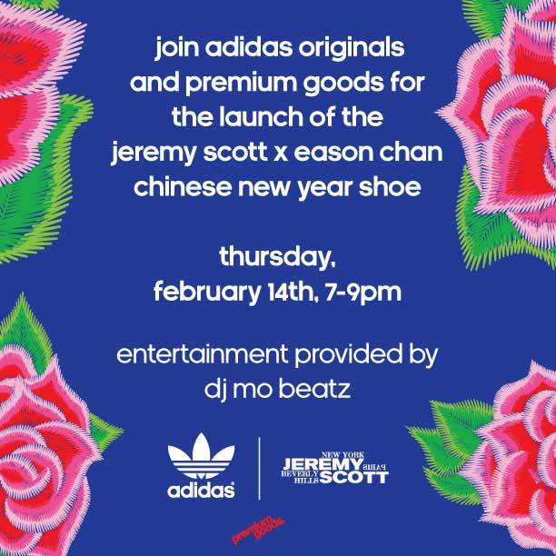 adidas Originals by Jeremy Scott Wings CNY Eason Chan Event
