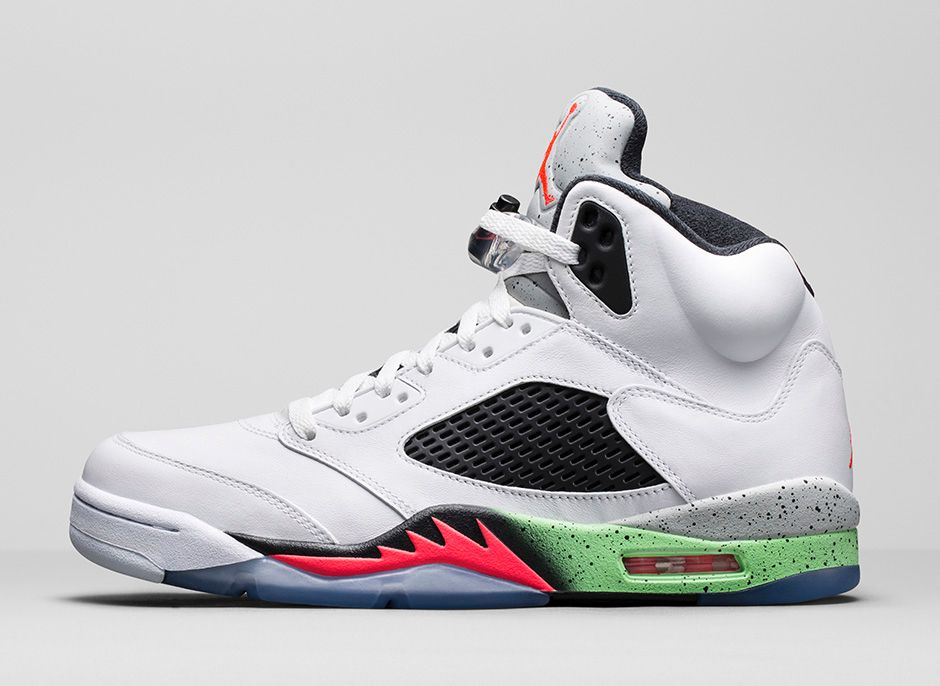 How to buy the 39 prostars 39 air jordan 5 on nikestore sole for Jardin 5
