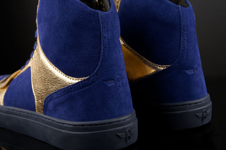 Creative Recreation Metallic Collection Cesario X Indigo Gold (3)