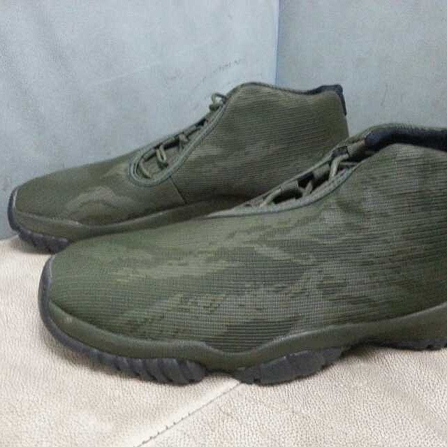 Air Jordan Future Tiger Camo Green (2)