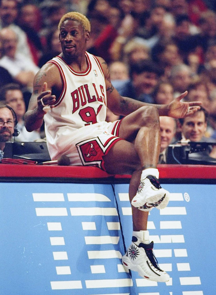The 10 Best Chicago Bulls Sneakers That Aren't Air Jordans: Converse All Star Rodman (2)