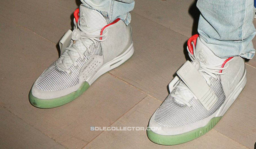 Nike Air Yeezy 2 Kanye West Shoes Zen Grey (7)