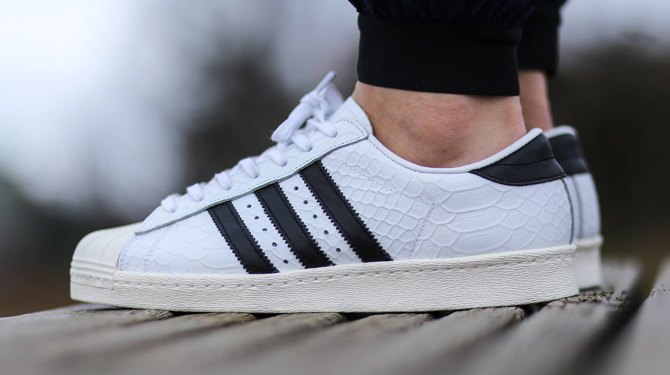 superstar adidas snake