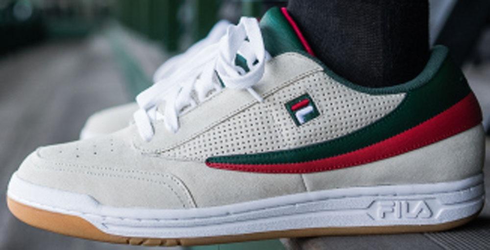 Fila Original Tennis Cream/Red-Green