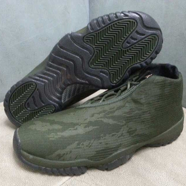 Air Jordan Future Tiger Camo Green (3)