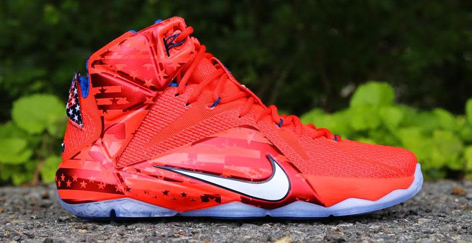 78bc4d29977c Nike LeBron XII 12 USA 684593-616 (1)