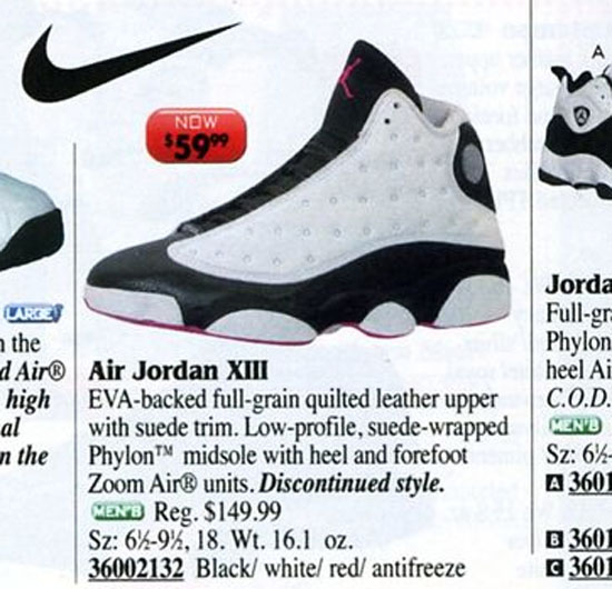 Air Jordan 13 Bas Catalogue Eastbay