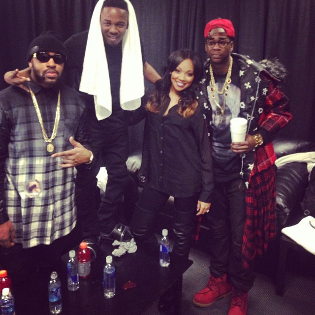 2 Chainz wearing VILLA x Timberland JTM Boot