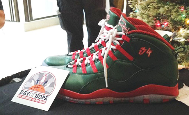 sports shoes 1cfa0 6c4d0 Ray Allen s Air Jordan 10 PE for Christmas Day (2)