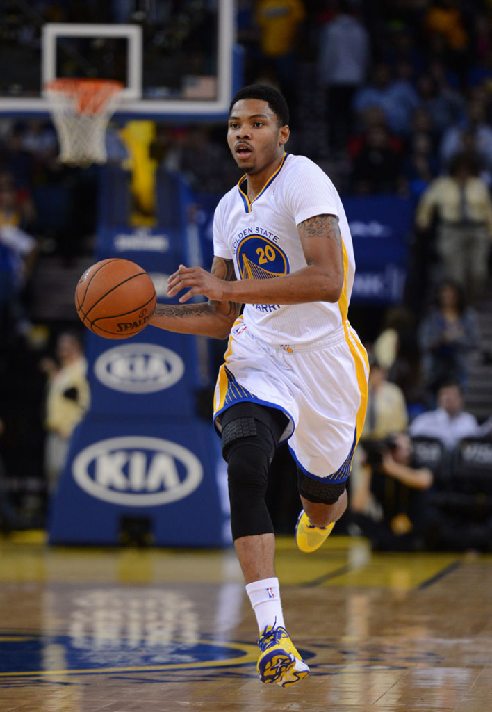 Kent Bazemore's Under Armour Anatomix Spawn Low PE Options - Yellow