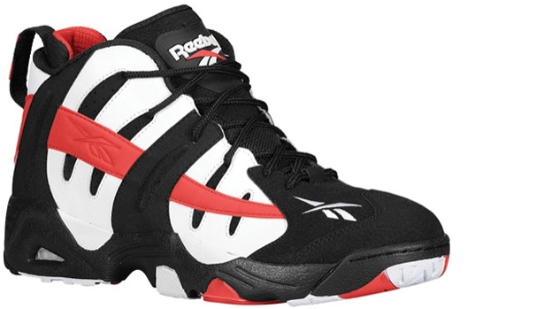 Reebok The Rail Black/White-Stadium Red