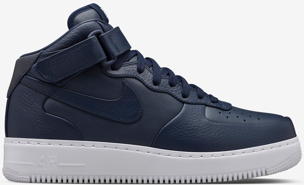 Nike Air Force 1 Mid SP Obsidian/White-Obsidian