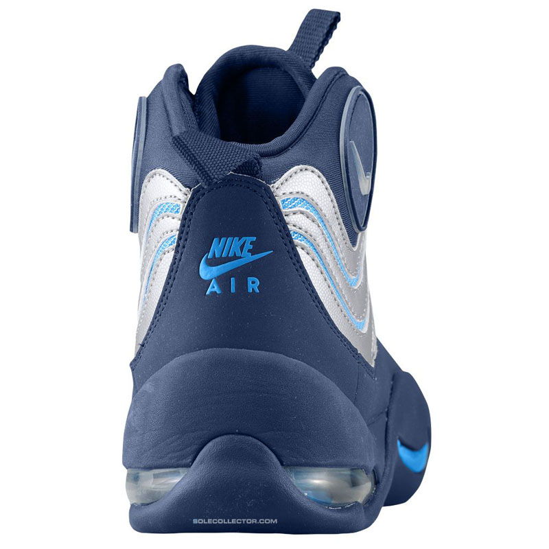 sports shoes 5a363 c6100 Nike Air Bakin Navy Blue-Silver 316383-400 Release Date (3)