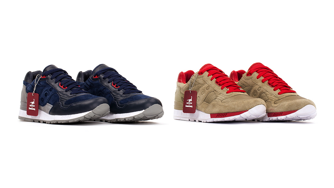 BAU x The Distinct Life x Saucony Shadow 5000 Novem