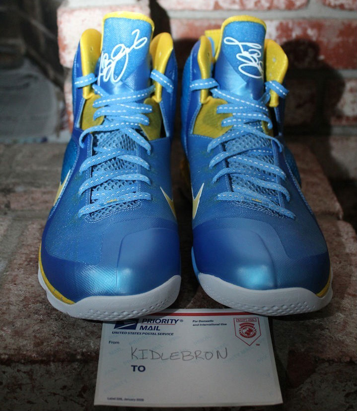 best website c78e2 63a48 Nike LeBron IX 9 Swin Cash Chicago Sky PE (6)