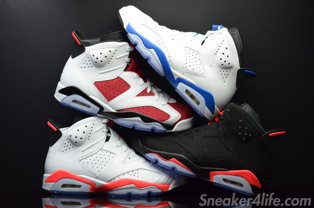 Air Jordan VI 6 OG Colorways 2014 (1)