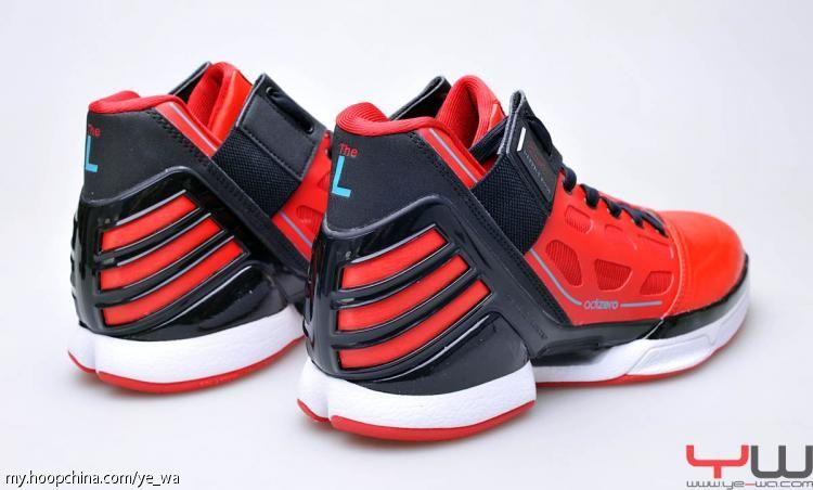 7723dbc0520c adidas adiZero Rose 2.0 University Red Black Intense Blue G47565
