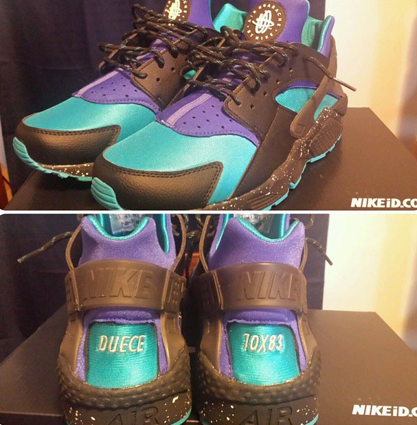 new product 07dd7 b035a Best NIKEiD Air Huarache Run Designs on Instagram (17)