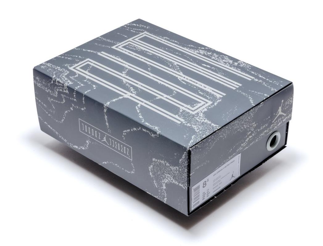 Pinnacle Air Jordan 11 Grey Suede Box