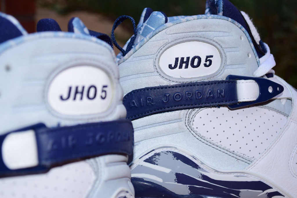 0eade99a14d Josh Howard s Air Jordan 8 PE Would Make a Great Release