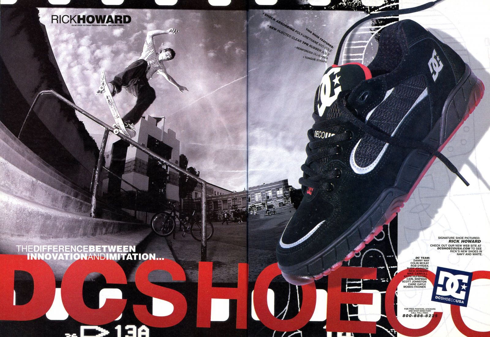 Vintage Ad Special Feature: Skate Shoes