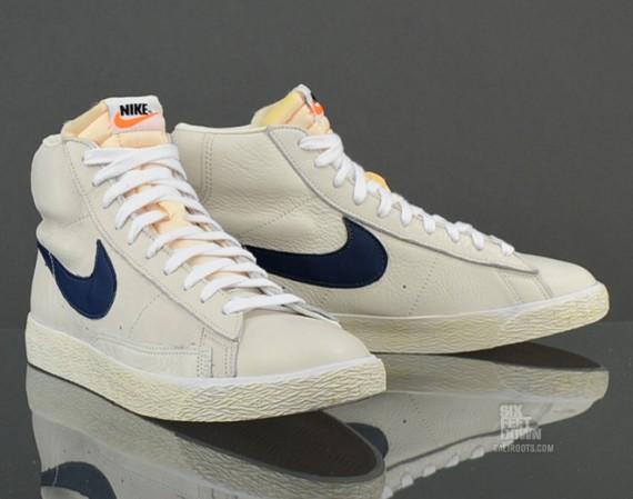 brand new 0d11d f7294 Nike Blazer Mid PRM - Sail/Midnight Navy | Sole Collector