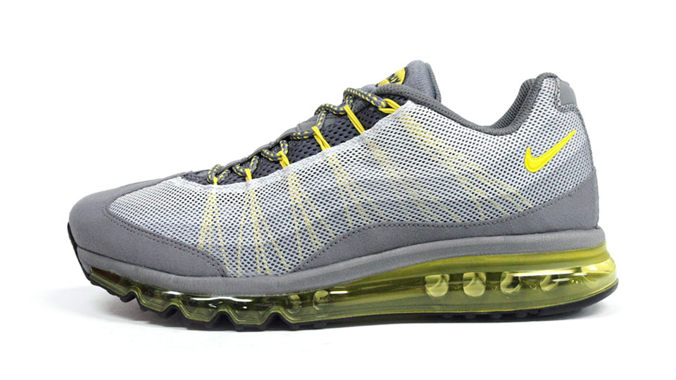 c1c2e9deea5 Air Max 95 2013 Dynamic Flywire - Cool Grey   Sonic Yellow