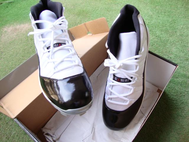 Air Jordan Retro 11 - C.C Sabathia Player Exclusive Cleats