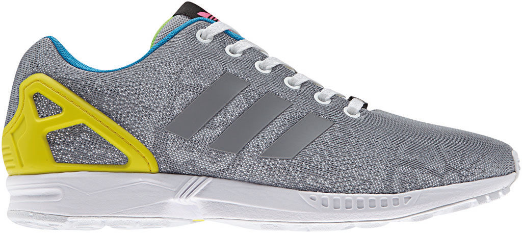 adidas ZX Flux Reflective Snake Pack Silver (1)