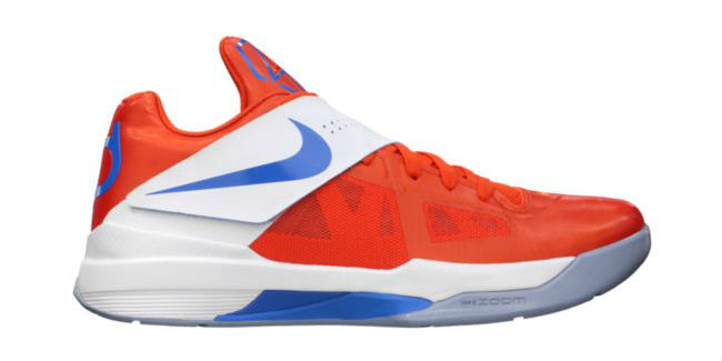 Top 24 KD IV Colorways for Kevin Durant's 24th Birthday // Team Orange Photo Blue