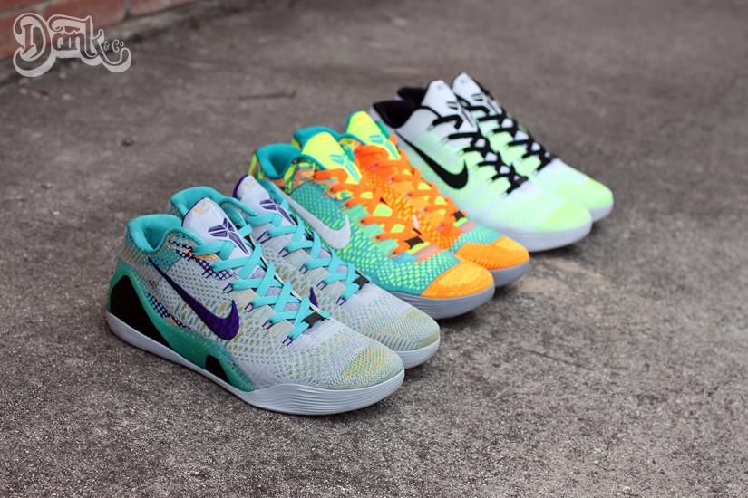 sneakers for cheap 0108a 1fb6d Nike Kobe 9 Elite Low Customs by JW Danklefs