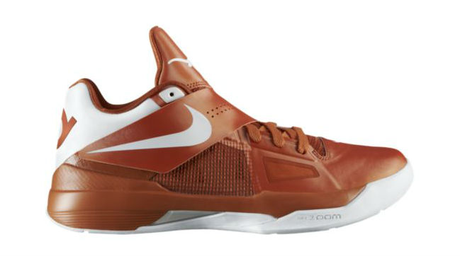 Top 24 KD IV Colorways for Kevin Durant's 24th Birthday // Texas Longhorns