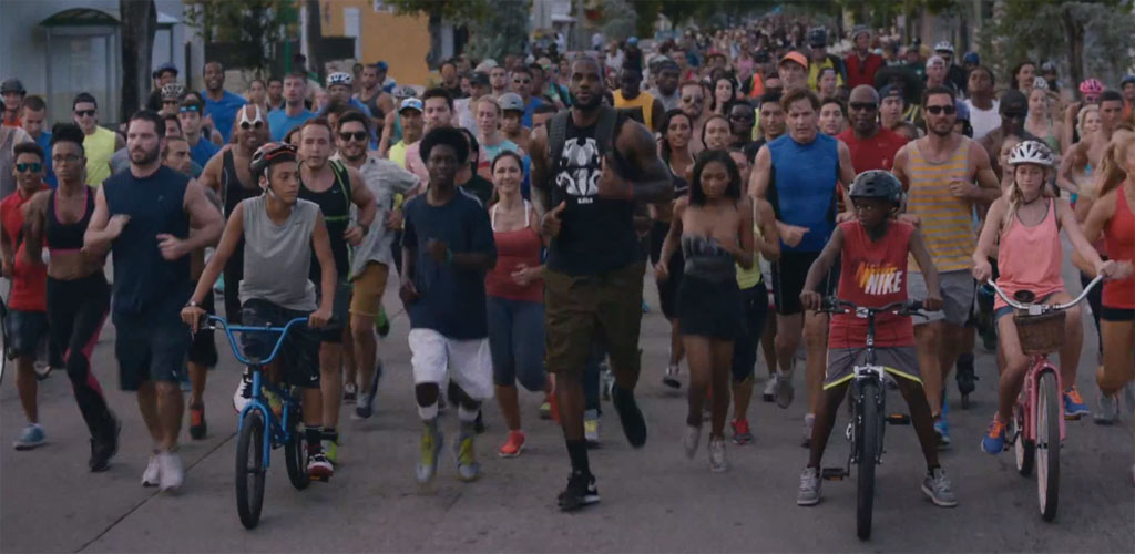 Nike Basketball & LeBron James | Training Day // Video