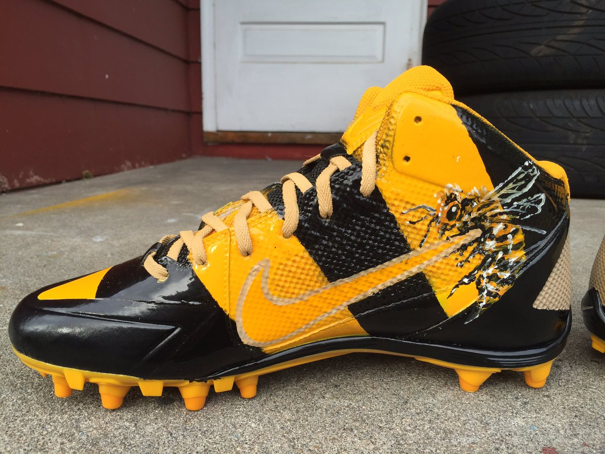 Antonio Brown Muhammad Ali Cleats Right Medial