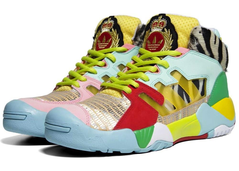 sneaker reebok - adidas Originals by Jeremy Scott JS Streetball - Art Green / Black ...
