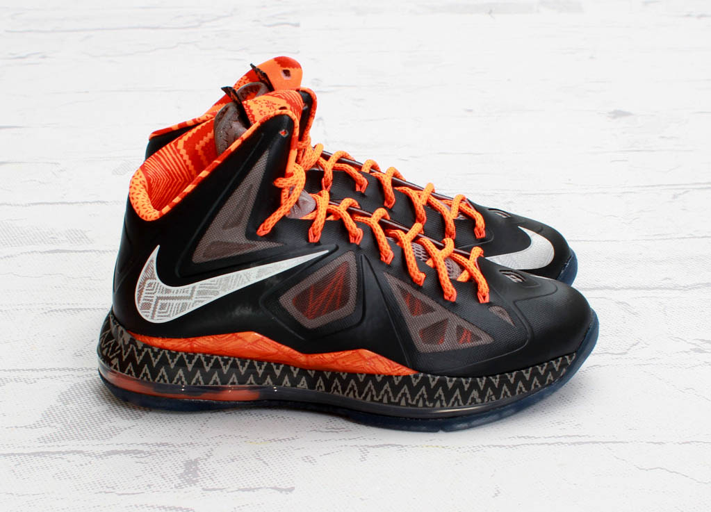 sale retailer 2ebd5 e99ee Nike LeBron X Black History Month - New Images and Release Date ...