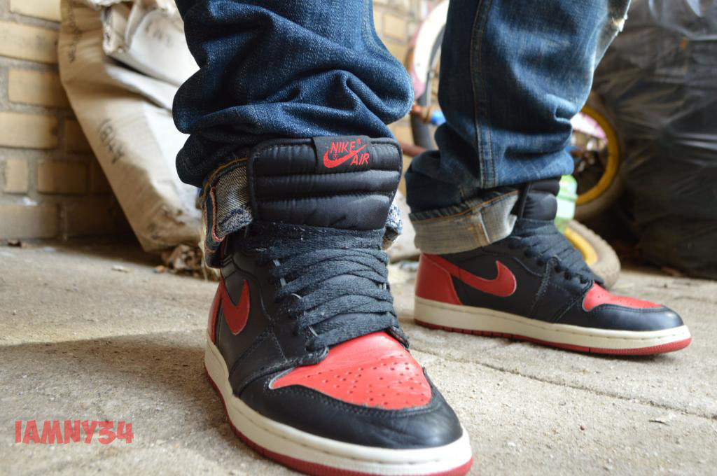 Spotlight: Forum Staff Weekly WDYWT? - 3.14.14 - iamny34 wearing Air Jordan 1 Retro '94 Black/Red