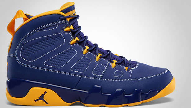 sports shoes 3d298 b509f 11 10 2012 Air Jordan Retro 9 302370-445 Deep Royal University Gold-White   160.00