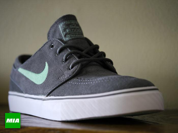 Nike Janoski Grey And Mint