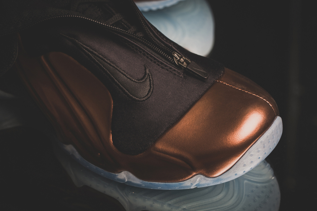 online store 7494c b061e A Detailed Look at the  Copper  Nike Air Flightposite 2014