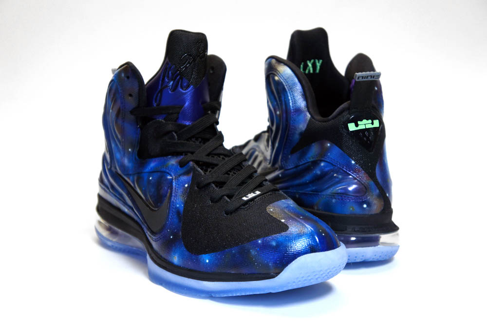 Nike LeBron 9 Foamposite Galaxy by C2 Customs (8)