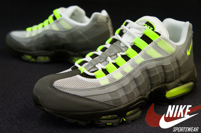 quality design 7a031 7f274 Recently surfacing overseas, the 2013 Neon Air Max 95 OG is seen in  detail below. Stay tuned to Sole Collector for stateside release info.
