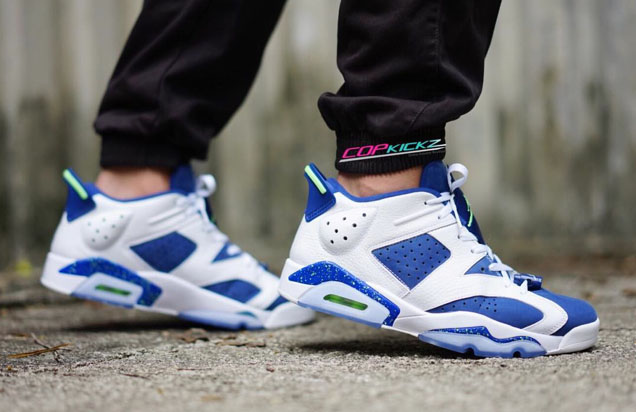 more photos 2bd56 74788 The 'Insignia Blue' Air Jordan 6 Low Release Draws Near ...