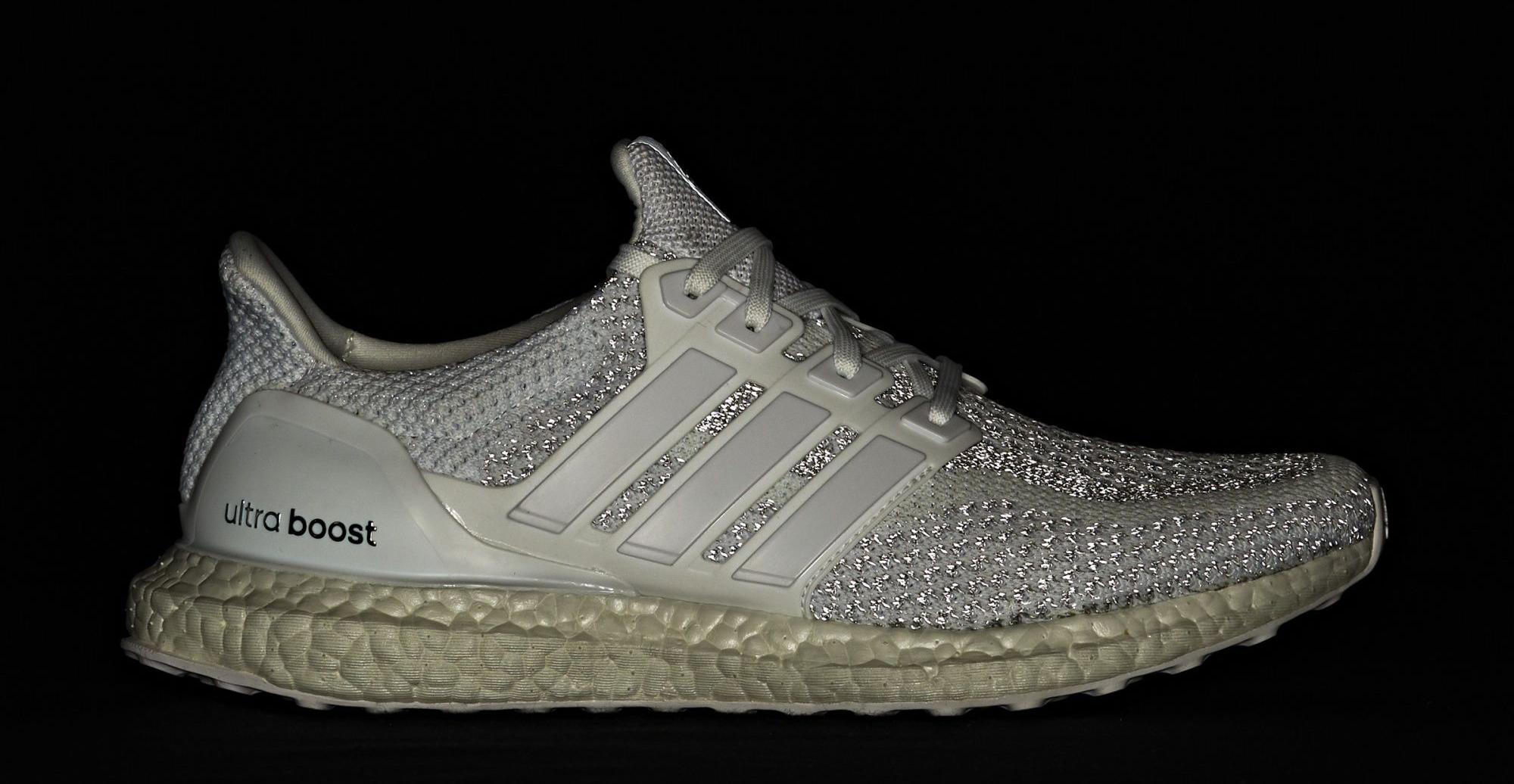 Adidas Ultra Boost White Reflective Flash