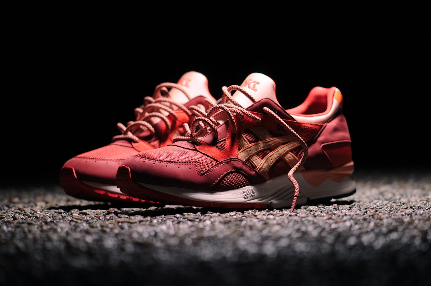 Ronnie Fieg X ASICS Gel-Lyte V  Volcanoes  - Official Images   Release Info 8edbc4c00c7e