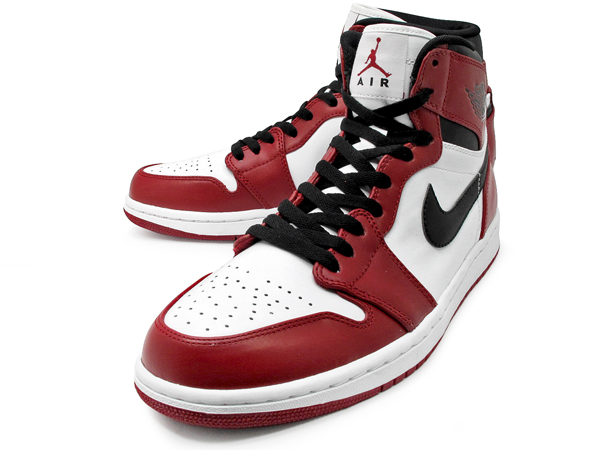 sneakers for cheap cefa6 2a967 Air Jordan 1 Hi Retro - White/Black-Varsity Red | Sole Collector