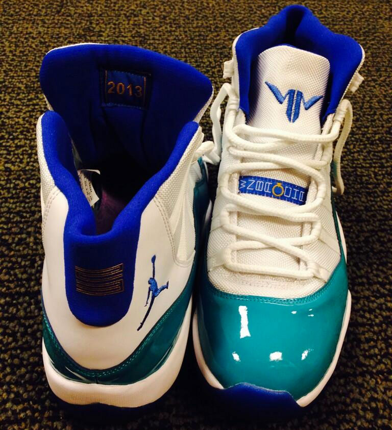 the latest 4861a 6bceb Maya Moore's Air Jordan 11 PE for the Home Opener | Sole ...