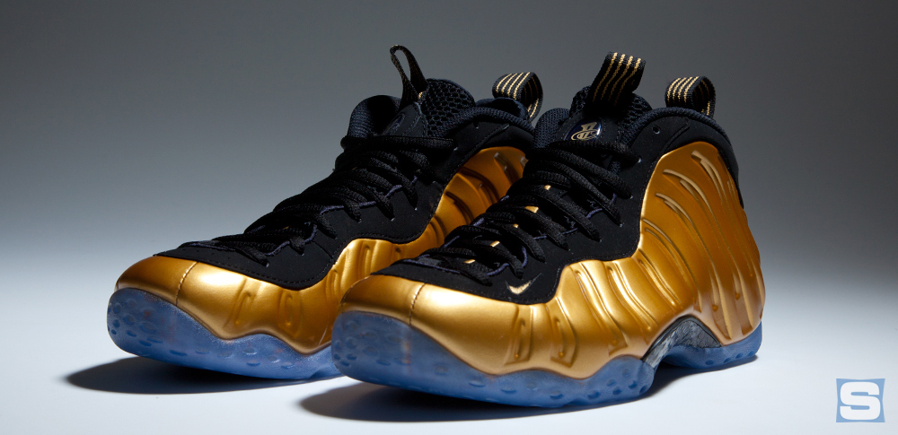 sports shoes f6026 c0d64 Nike Air Foamposite One Metallic Gold