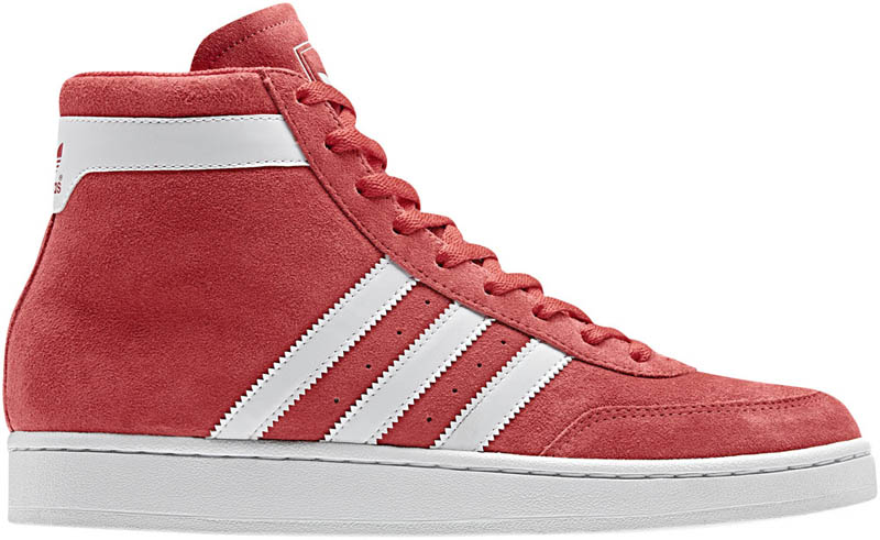 adidas Originals Basketball Pack - Fall Winter 2011 · adidas Originals High  Post Mid Light Scarlet White G50890 455b33d058