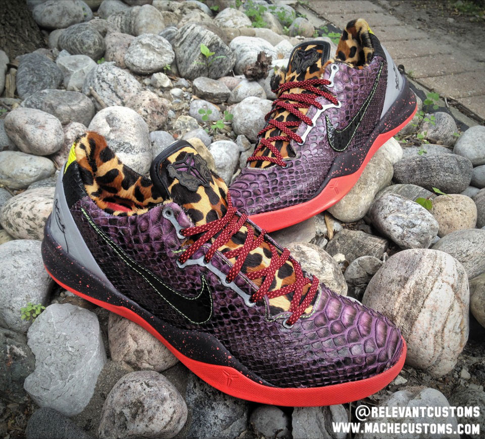 "Nike Kobe 8 System ""What The Kobe"" by Mache Custom Kicks x Relevant (4)"